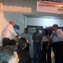 Prefeito de Posse, governador Marconi, vice José Eliton e Sup. Rejane Sena, inauguram a Circunscrição