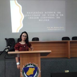 A educadora física Bárbara Souza falou sobre qualidade de vida e imagem corporal.