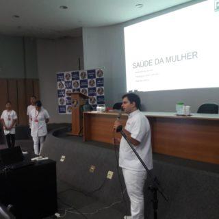 Farmacêutico Khalled Ghader fala sobre a saúde da mulher.