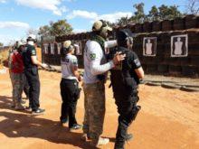 Instrução de Armamento e Tiro em Valparaíso