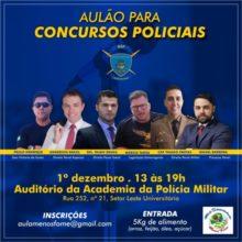 Não perca o Aulão coordenado pelo Delegado de Polícia Rilmo Braga