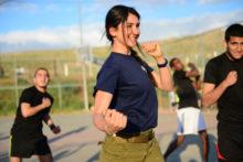Aulas de Krav Magá para servidoras (Policiais e Administrativas). Créditos da Imagem: IDF (Israel Defense Forces)