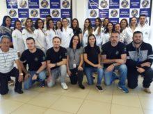 Equipe do Laboratório de Biologia e DNA Forense (LBDF) da Polícia Científica.