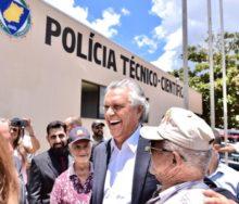 Governador Ronaldo Caiado inaugura a sede da 14ªCRPTC